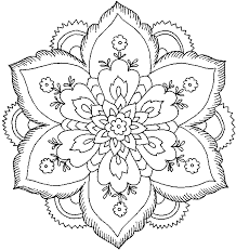 Small Picture Difficult Flower Coloring Pages GetColoringPagescom