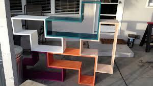 tetris furniture. Worklog: Tetris Shelves - Sanding, Priming, More And Painting Furniture