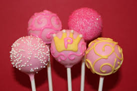 princess cake pops! I'll make these for Emelyn's first birthday ...