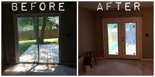 how to replace glass in french door