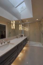 under vanity lighting. Under Vanity Lighting. Unit Lighting, Tiled Floor - Illusion Of Space Vollinger Residence Lighting S