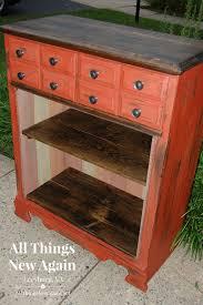 rustic look furniture. Dresser Turned Into Bookcase1 Rustic Look Furniture O