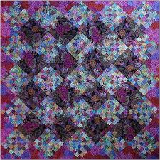 143 best Purple quilts images on Pinterest | Jellyroll quilts ... & Blue Willow Quilt pattern by Blue Underground Studios, shown in  Westminster/ Kaffe Fassett fabrics Adamdwight.com