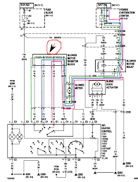 nissan why might lower settings of a dashboard fan not work if the green tracing is low and goes through all three resistors the blue tracing is med low and goes through resistor 2 and 3 the red tracing is med high