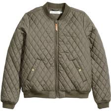 Bomber jacket - Polyvore & H&M Quilted bomber jacket Adamdwight.com