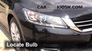 2017 Honda Accord Sport Bulb Size Chart Headlight Change 2013 2017 Honda Accord 2014 Honda Accord