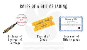 bill of loading what is a switch bill of lading and when and why is it used