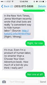 "an essay in bot form"" text this basic text bot to about  essay bot 2 """