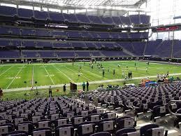 Minneapolis Us Bank Stadium Seating Chart Us Bank Stadium View From Section 111 Vivid Seats