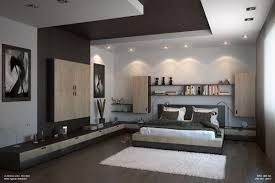 bedroom lighting ideas ceiling. Wavy Pop Ceiling Design Ideas For Bedroom Table White Leather Tufted Sofa Set Round Lighting Wood Interior Scheme Cream Bedding Sets