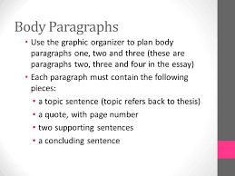 expository essay the outsiders ppt video online  body paragraphs use the graphic organizer to plan body paragraphs one two and three