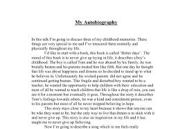sample essay high school