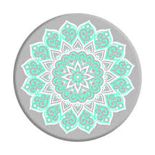 Design Popsocket Cheap Peace Mandala Tiffany Popsocket Mint And White Designs