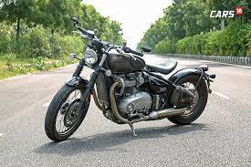 triumph bonneville bobber review the best motorcycle in india for