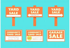 Yard Sale Signs Templates Sign Best Template Unbelievable