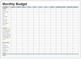 Family Budget Template Free Free Google Docs Budget Templates Smartsheet Monthly Sheets