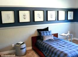 Boy Bedroom Set Boy Bedroom Furniture Floating White Orange Shelves On The  White Wall Walls Painted