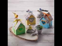 canvas project birdhouse gift box