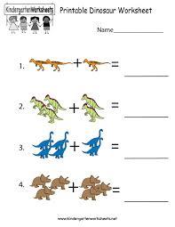 Free Printable Dinosaur Worksheets Dinosaurs For Kids ...