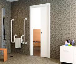 Door Barn Door Locks Amazing Pocket Door Bathroom Teardrop Sliding ...