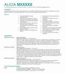 Sample Resume For Lpn Nurse Home Care Nurse Resume Sample Nursing Resumes Livecareer
