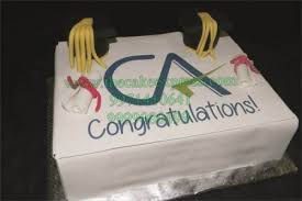 Send Cake For C A To Gurugram Online Buy Cake For C A Online In