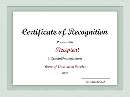 award certificates template service award certificate template