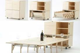 space saving transforming furniture. Space Saving Transforming Furniture. Creative And Unique Dining Table Chairs Furniture Decor Inspiration B