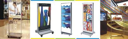Led Light Box Display Stand Movable Stand Light Box LED WORLD eco led lighting solutions 28