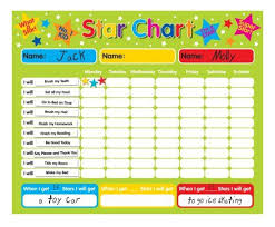 55 Unmistakable Star Chart For Good Behavior