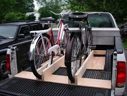 truck bed bike holder