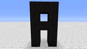 Case Piccole Minecraft : Alphabet on minecraft lower and upper case creative mode