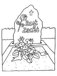 Dood Begrafenis Kleurplaten Animaatjesnl