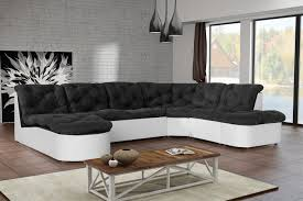Indogate Com Salon Avec Canape Noir Canape Salon Sejour Canape Canape D Angle Canape D Angle Panoramique Places Mississipi Coloris Marron P