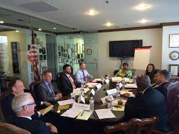 congresswoman johnson hosts innovation roundtable meeting in her dallas office