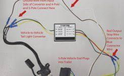 4 wire to 5 wire trailer wiring diagram 5 wire trailer plug diagram at Five Wire Trailer Harness