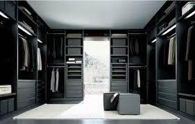 ... Elegant Home Interior And Bedroom Design Ideas With Large Walk In Closet  : Exciting Picture Of ...