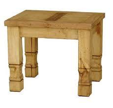 Rustic style furniture Teal Rustic Solid Wood End Table Handmade Antique Vintage Rustic Style Wormwood Furniture Stevenwardhaircom Solid Wood End Table Handmade Antique Vintage Rustic Style Wormwood