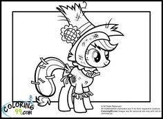 Small Picture My Little Pony Free Coloring Pages Little Pony Coloring Pages