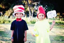 book character dress up day easy diy dr seuss cat in the hat and sam i am costumes you