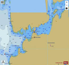 Fishing Charts Near Me South Bristol Harbor Inset Me Marine Chart Us13293_p2049