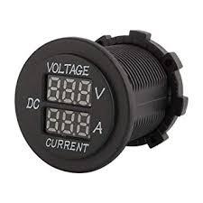 Qiilu Car <b>Motorcycle</b> DC <b>12</b>-<b>24V Dual</b> LED Digital Voltmeter ...