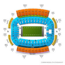Commonwealth Stadium Seating Chart Commonwealth Stadium Seating Chart 2019