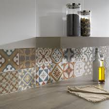 Kitchen Tiled Walls Top 15 Patchwork Tile Backsplash Designs For Kitchen