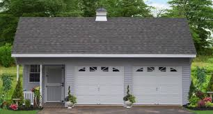 Add a Unique Touch to Your Home | Saltbox Two Car Garages