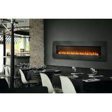 full image for napoleon inch wall mount electric fireplace with glass ember bed lifestyle view ultra