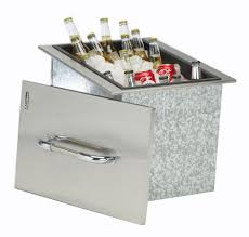 Amazoncom  Bull Outdoor Products Stainless Steel Drop In Ice - Bull outdoor kitchen
