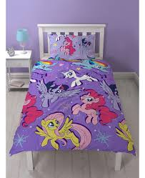 my little pony single rotary duvet cover set
