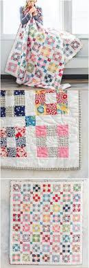 Jelly Sandwich Quilt | Quilting, yes, please! | Pinterest | Jelly ... & Easy 9 patch blocks make up this modern vintage vibe quilt. Jelly roll quilt  for easy piecing. Scrappy nine patch quilt pattern. Adamdwight.com