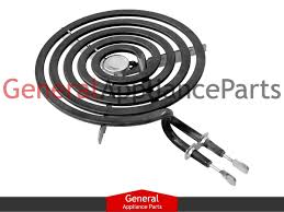 ge electric range cooktop stove 6 034 small surface burner ge electric range cooktop stove 6 small surface burner heating element htea007
